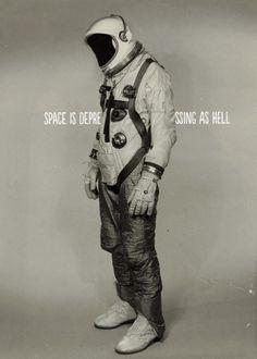 Vintage space costume