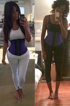 Lazy Girl's Guide to Waist Training Like Kim Kardashian  How to get Kim's itty bitty midriff in 6 easy (but uncomfortable) steps.