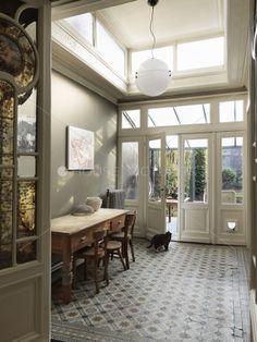 Belgian Art Nouveau home filled w/ original charm...