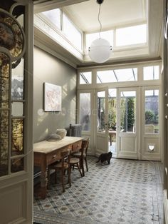 Belgian Art Nouveau home filled w/ original charm...