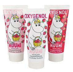 Oxygenol Niiskuneiti -hammastahnat tytöille