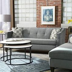 Blue Sofa  Familyliving Room Spaces  Pinterest Awesome Lazy Boy Dining Room Sets Decorating Inspiration