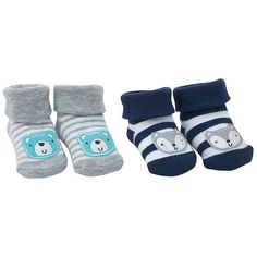 Newborn Baby Ultra Soft Cozy Bear Design Booties Socks