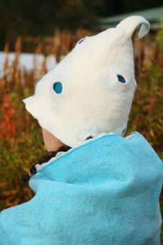 Felted hat Felt Hat, Dinosaur Stuffed Animal, Animals, Animales, Animaux, Animal Memes, Animal, Animais, Dieren