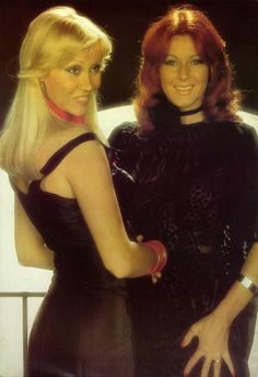 Agnetha and Frida ABBA