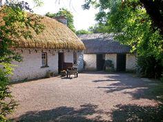 Irish Thatched Roof Cottages | Cork ireland, Ireland and Cork