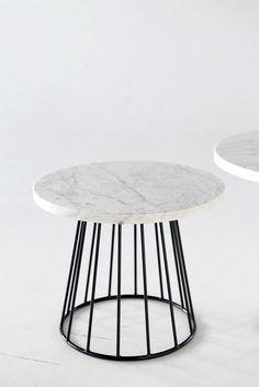 thedesignwalker:  Marble tables by Olöf Jakobina