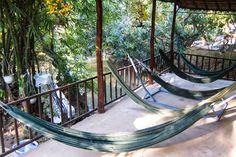 Hammock around Mekong delta home stay