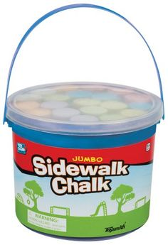 ToySmith Jumbo Sidewalk Chalk - 20 chalks Toysmith https://smile.amazon.com/dp/B001A5SNXA/ref=cm_sw_r_pi_dp_zqmAxbG8DND6X