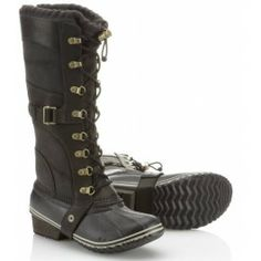 Sorel Conquest Carly Boot... a favorite that I've been coveting for ages... and now even cooler because Katniss wore them in Catching Fire.