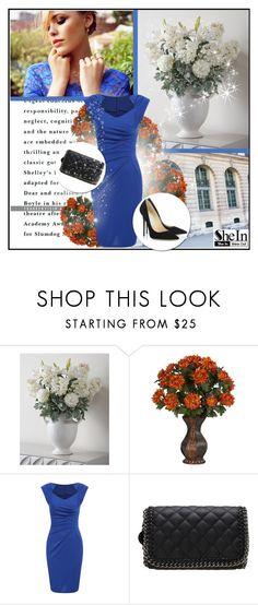 """Shein 1"" by mell-2405 ❤ liked on Polyvore featuring John-Richard, Nearly Natural, Jimmy Choo and shein"
