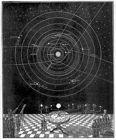 Elijah Buritt. Atlas of the Heavens, New York, 1835