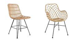 Kwantum of HKliving rotan stoel