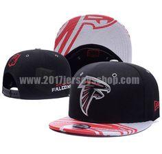 26e27506baa Atlanta Falcons Black 2017 NFL Draft Adjustable Snapbacks Hat