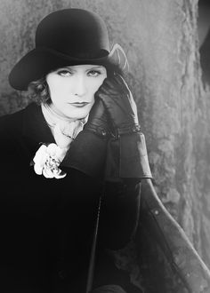 Greta Garbo as 'Anna Karenina' - 1927 - Anna Karenina, 'Love' (original title) - Costume by Gilbert Clark - Director: Edmund Goulding