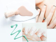 """Spring 2016 Trend Report: """"The New Frenchie"""". Get the look with new Gel Effect Nail Polishes. 2016 Trends, Gel Nails, Nail Polishes, French Manicures, Get The Look, Makeup Looks, Turquoise, White Linens, Spring Trends"""