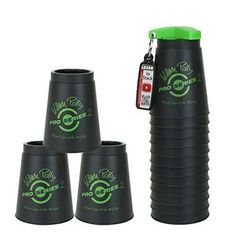 baby toys Speed Stacks Sets Pro Series 2 Black (Sport Stacking / Cup Stacking) #SpeedStacksInc Cup Games, Developmental Toys, Baby Toys, Sports, Ebay, Black, Prince, Image, Kids