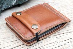 Beige leather money clip. $39.00, via Etsy.