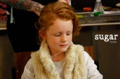 Victoria de Sugar Kids para pasarela Petit Style Walking