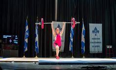 Claudie Vaillancourt - Championnat junior du Québec   Novembre 2014