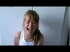 Connie Talbot gets the giggles while singing - 2009/10