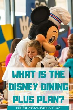 What is the Disney Dining Plus Plan? Everything you need to know about the newest dining options at Walt Disney World Resort! Also is the Disney Dining Plan worth it? Find out here! Disney Vacation Club, Disney Vacation Planning, Disney World Planning, Disney Cruise Line, Disney World Food, Disney World Parks, Disney Worlds, Disney Resorts, Disney Vacations