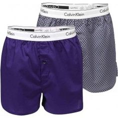 Calvin Klein Modern Cotton Slim Fit Woven Boxer 2-Pack, Ellipse Print Valiant/Valiant Calvin KleinModern Cotton Slim Fit Woven Boxer 2-Pack,Ellipse Print Valiant/Valiant Slim fit soft cotton boxers, comfortable fit, classic length, with room for ease and freedom of movement. Single button fly Calvin Klein signature logo stretch waistband for a Modern body-defining fit This CK Underwear is made from 100% Cotton Ck Underwear, Calvin Klein Men, Signature Logo, Lounge Wear, Boxer, Slim, Gym Men, Fitness, Cotton