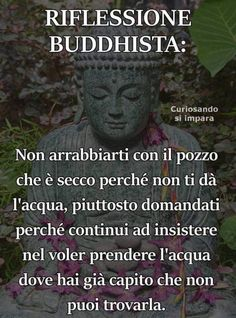 Dedicato un po' a tutti noi che speriamo sempre nel cambiamento di qualcuno che invece NON CI PENSA PROPRIO a cambiare!!! Words Quotes, Wise Words, Life Quotes, Favorite Quotes, Best Quotes, Cogito Ergo Sum, Single Words, Osho, Spiritual Quotes