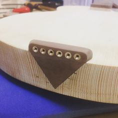 I can glue it in place. Custom Bass Guitar, Guitar Diy, Guitar Shop, Custom Guitars, Music Guitar, Cool Guitar, Acoustic Guitar, Homemade Instruments, Ukelele