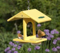 décoration de jardin extérieur à suspendre- une mangeoire pour papillons en forme de maison