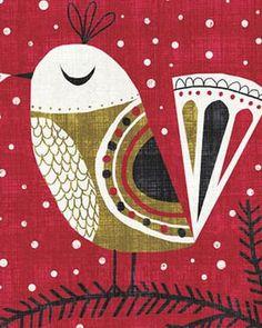 Art, illustration, + surface design portfolio of Michael Mullan. Scandinavian Folk Art, Madhubani Painting, Art Textile, Bird Illustration, Illustrations And Posters, Mellow Yellow, Fabric Painting, Bird Art, Art Lessons