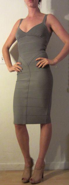HERVE LEGER DRESS @Michelle Flynn Coleman-HERS