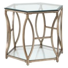Brooke Hexagonal End Table from Z Gallerie