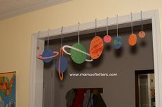 Homeschooling Kindergarten: Teaching the Solar System | Mama of Letters