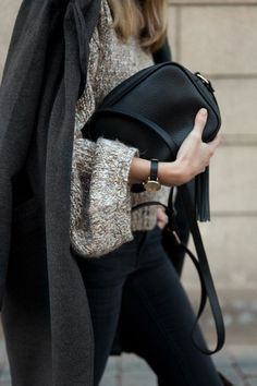 Warm layers in neutral colors