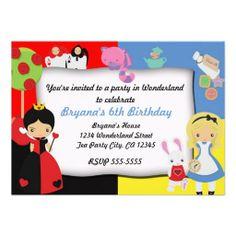 Ava's birthday invitations and theme colors 2