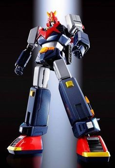Bandai Choudenji Machine Voltes V F.: Tamashii Nations Soul of Chogokin Die-Cast Action Figure - Toys Old Cartoon Movies, Combattler V, Statues, Japanese Robot, Metal Robot, Vintage Robots, Hobby Toys, Mecha Anime, Super Robot
