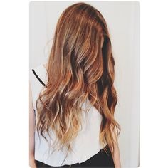 Gorgeous beach waves, long hair with highlights