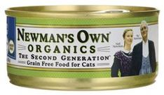 Newmans Own GrainFree Canned Cat Food Turkey 55 oz ** Click on the image for additional details.