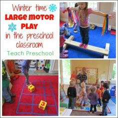 Don't let cabin fever into your classroom!  Beat those winter blues with some fun indoor movement activities!