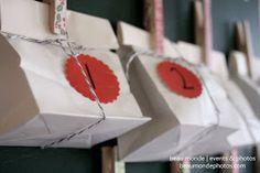 green owl crafts: { diy advent calendar }