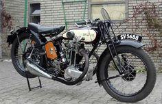 Raleigh vintage motorcycle