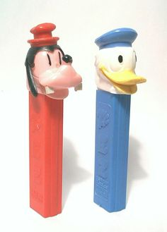OLD PEZ NO FEET DONALD DUCK