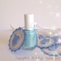 Nail Polish Favors for Baby Showers - A New Trend
