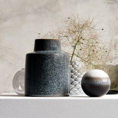Váza CADDY Ø14xV18 cm kamenina | JYSK