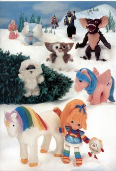 80's toys!!! Had too many of these... Still got the Rainbow brite doll