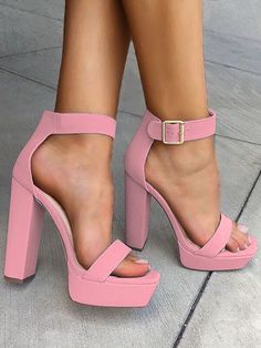 440b31afb7 28 Best Chunky heel sandals images in 2019 | Fashion Shoes, Shoe ...