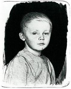 Portrait of Hans Kollwitz, Käthe Kollwitz, 1896.
