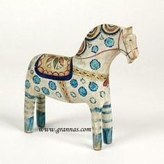 Viking Dala Horse - Collectors Series #12 (20 cm)  I'm gonna get one someday