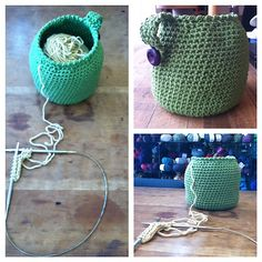 Crochet Yarn Bowlz - free ravelry download! I love its shape!